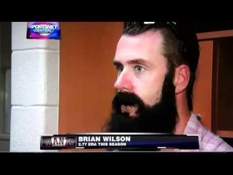 Sf Giants Brian Wilson Reacts To Carlos Beltran Trade 7 27