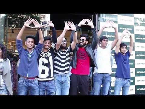 UNCUT - Ranveer Singh DON'T HOLD BACK by Jack & Jones