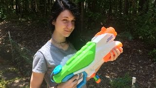 Honest Review: The FloodFire SuperSoaker by Nerf