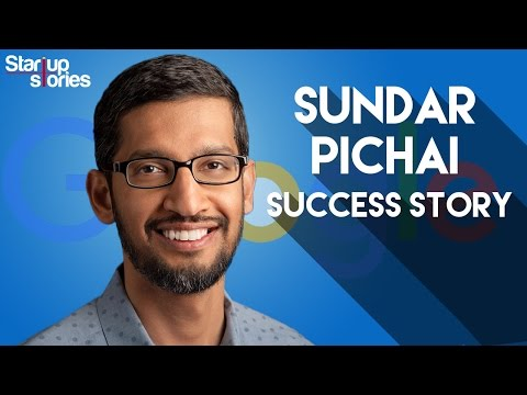 Sundar Pichai Success Story | GOOGLE CEO Biography | Startup