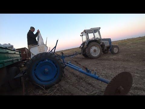 Посев пшеницы 2017 первый день.