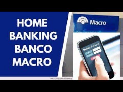 BANCO MACRO (HOME BANKING O MOBILE BANKING) MEJOR EXPLICADO
