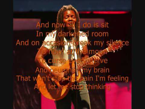 Tracy Chapman Thinking of you with lyrics on screen copy