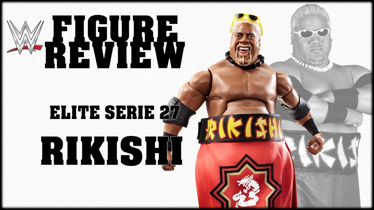 wwe mattel rikishi elite series 27 deutsch figure review youtube. Black Bedroom Furniture Sets. Home Design Ideas