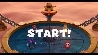 Super Mario Party - Minigames - Mario vs Waluigi vs Shy Guy vs Daisy (Master CPU)