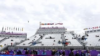 Russian habits leave empty seats at Sochi Winter Olympics