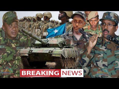 DEG DEG Dagaalkii Kenya & Somalia Oo Markale Bilowday, Somalia Oo Cashar Lama ilaawaan Ah Udhigtay K