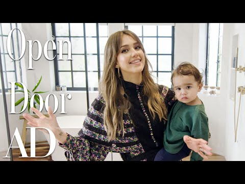 Inside Jessica Alba's $10M Los Angeles Home | Open Door | Architectural Digest
