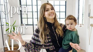 Download Inside Jessica Alba's $10M Los Angeles Home | Open Door | Architectural Digest Mp3 and Videos