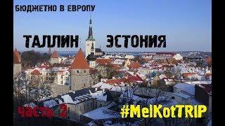 Путешествие в Таллин | Сколько стоят 2 дня в Эстонии | Бюджетно в Европу продолжение
