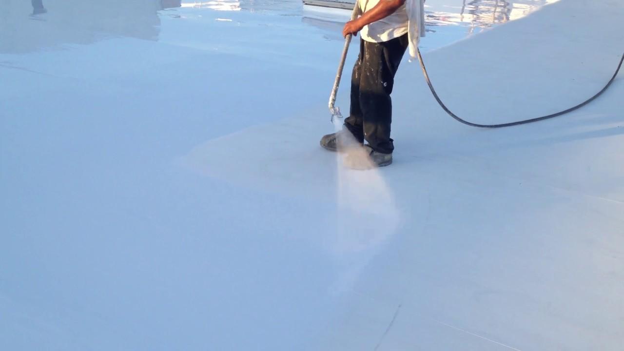 Silicone Roof Coating Restoration   Progressive Materials