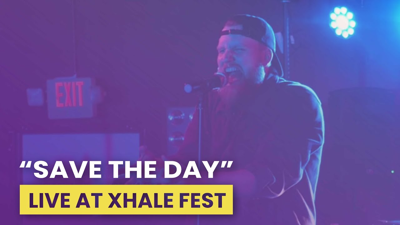 Trevor Lee at Xhale Music Fest