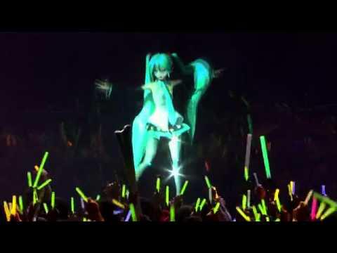 смотреть клиппы с японской виртуалной певицей