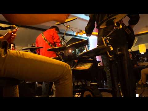 I wish you were here Pink Floyd + Lady Writer dire straits! Drum Cam Live!