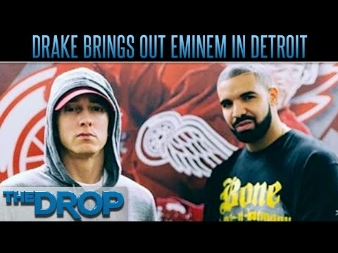 Drake Brings Eminem on Stage in Detroit – The Drop Presented by ADD