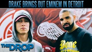 Drake Brings Eminem on Stage in Detroit - The Drop Presented by ADD