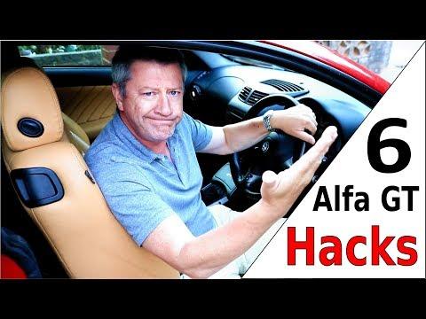 Alfa Romeo GT - 6 Hacks In 6 Minutes!