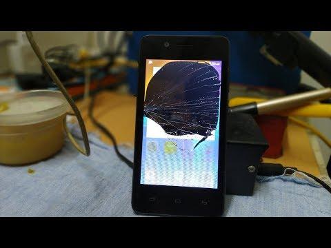 Broken lcd android phone repair, Micromax Bharat 2 Nizar Repairs