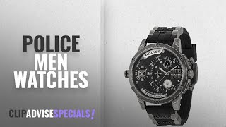 10 Best Selling Police Men Watches [2018 ]: Police Mens Watch 14536JQ02P