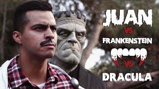 JUAN VS FRANKENSTEIN VS DRACULA | David Lopez