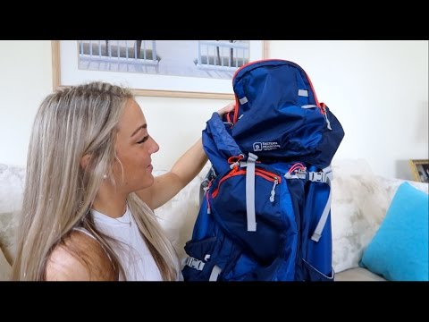WHAT I PACKED FOR TANZANIA MOUNT KILIMANJARO!