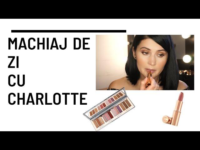 Machiaj de zi cu Charlotte Tilbury / Pillow TALK Instant Eyeshadow Palette