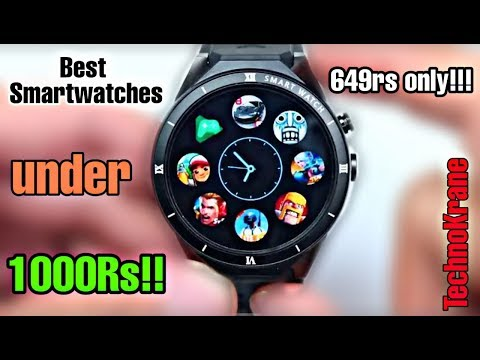 Top 5 Smartwatches In 1000Rs!!!🔥🔥 | Best Smartwatches In 1000 Rs | Smartwatches | Android Watches