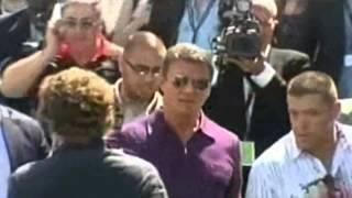 I MERCENARI 3 - Sylvester Stallone arriva a Cannes 2014 - ITA