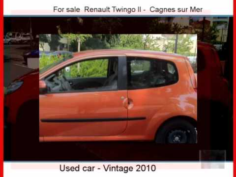 sale one renault twingo ii cagnes sur mer youtube. Black Bedroom Furniture Sets. Home Design Ideas