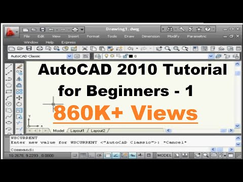 Tutorial autocad beginner pdf