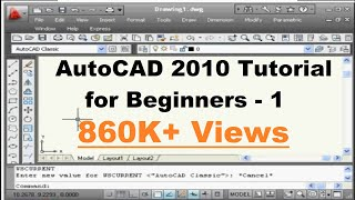 AutoCAD Tutorial for Beginners - 1