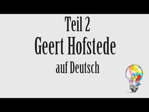 0004 Kulturdimensionen: Geert Hofstede Teil (2/2)