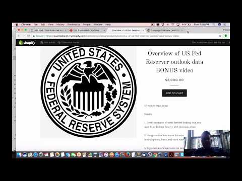 4 days left for exclusive video USA Fed forward looking data forecasting