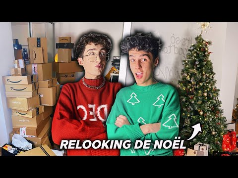 NOTRE RELOOKING APPARTEMENT DE NOËL ! (+ surprise)