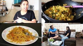 Full Day Routine, Breakfast Se Lekar Raat Tak ☀🌛!! | Indian Mom Studio