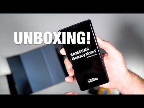 Galaxy Note 9 Unboxing and Tour!
