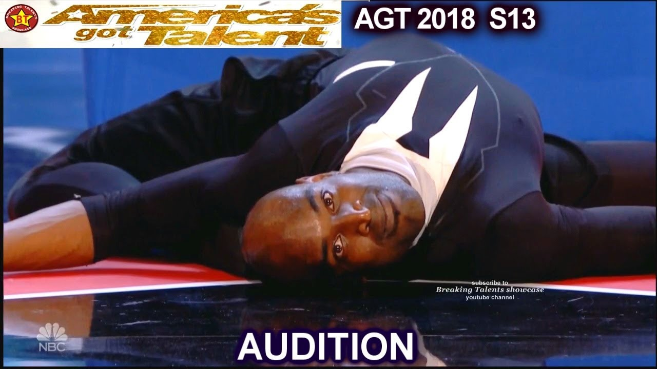 Creepy Troy James Contortionist FREAK OUT ACT  AGT Audition (2018)