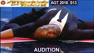 Troy James Contortionist FREAK OUT ACT   America's Got Talent 2018 Audition AGT
