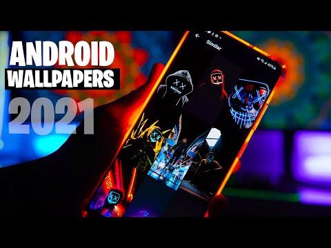 Mejores APPS de FONDOS DE PANTALLA Para ANDROID 2021 4K Y Full HD!!
