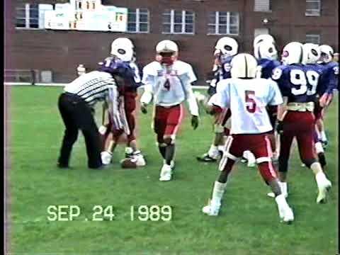 Fighting Little Redmen vs Austintown Colts Playoffs 1989