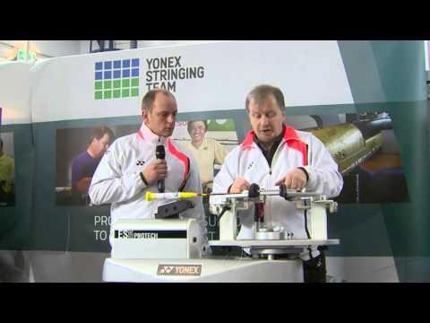 Yonex Stringing Masterclass - Badminton rackets