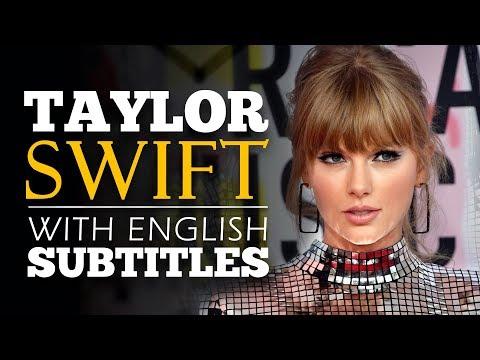 ENGLISH SPEECH | TAYLOR SWIFT: YouTube Presents Interview (English Subtitles)