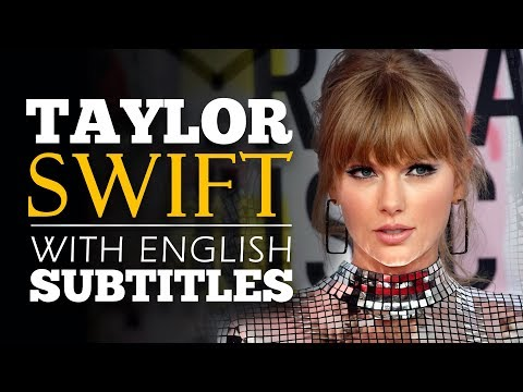 ENGLISH SPEECH | TAYLOR SWIFT: YouTube Presents Interview (English Subtitles)