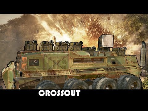 How to cause 2000 Damage in one volley  Crossout Build and Battle