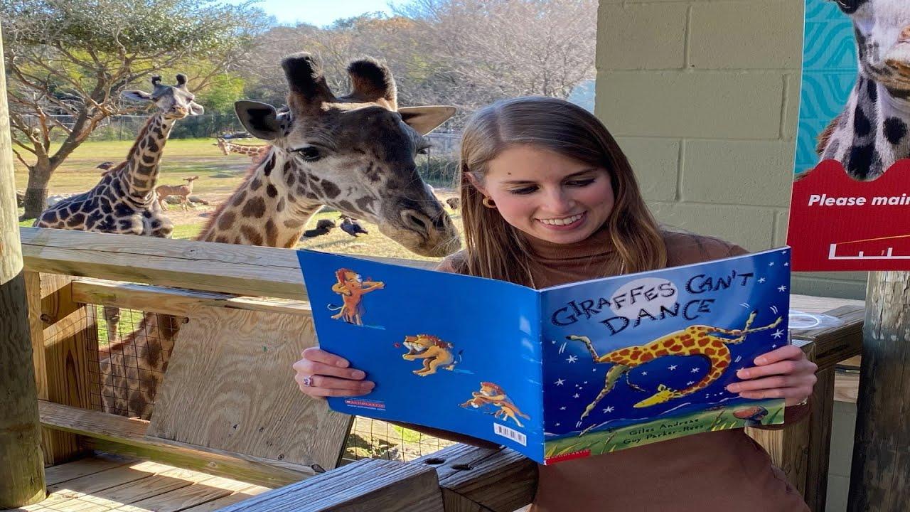 Giraffes Can't Dance l Giles Andreae l Kassi Kincaid I Cameron Park Zoo I Waco Texas I Giraffe