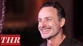Andrew Lincoln's Last 'The Walking Dead' Scene Had Norman Reedus Tickling His Feet  | THR