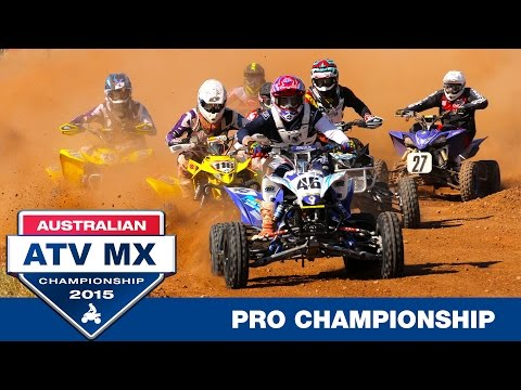 2015 Australian ATV MX Championships - Pro Championship