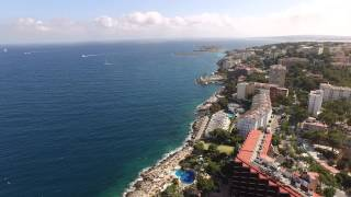 DJI Phantom 3 Mallorca from Cala Major to Illetas