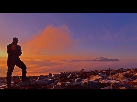 A micro adventure - Day one - Assynt mountain and a view to Suilven