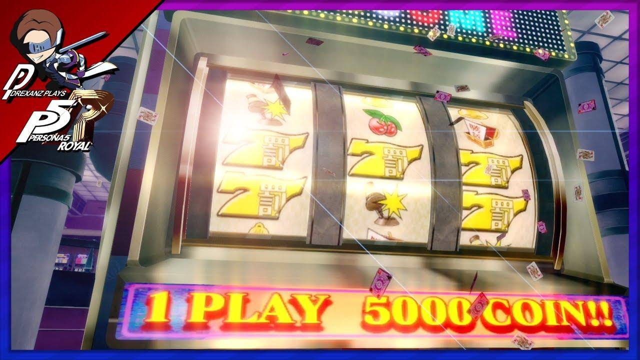 Persona 5 royal casino coins slot machine